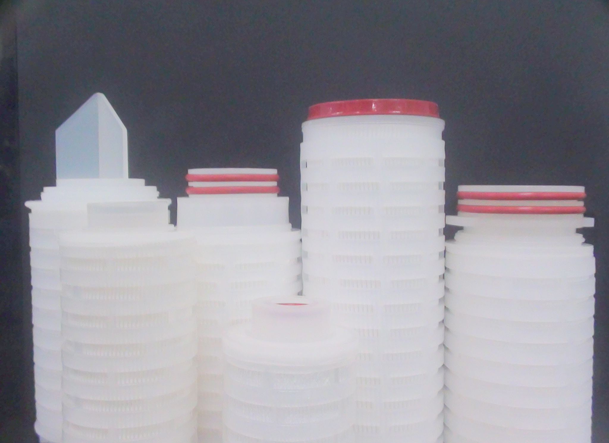 Pleated Glass Fibre Filter Cartridge
